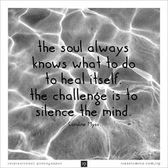 The soul always knows what to do - Inspirational Quotograph by Israel Smith #inspiration #quotes http://israelsmith.com/iq/soul-always-knows/