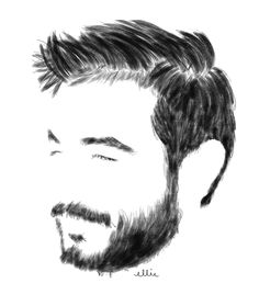 Hair sketch, hair and beard styles, hair styles, mohawk hairstyles, how t. Realistic Hair Drawing, Easy Eye Drawing, Shading Drawing, Guy Drawing, Drawing Ideas, Beard Styles For Men, Hair And Beard Styles, Hair Styles, Beard Logo
