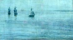 """Nocturne: The Solent"" by James Abbott McNeill Whistler via DailyArt app, your daily dose of art getdailyart.com"