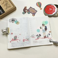 """- ❤️2015.8.31.mon~9.1.tue❤️ 想旅行的心,完完全全請女子亥表達!背著背包,輕鬆自在的享受旅行! 9月以氣象學角度是秋天了!空氣中似乎有點淡淡的哀傷! 謝謝mei幫我打的大圓! - #日記 #手帳 #手帳好朋友 #hobo  #hobonichi…"""
