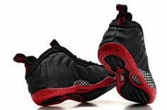 reputable site 52b52 48367 Penny Hardaway Shoes Nike Air Foamposite One Black Red