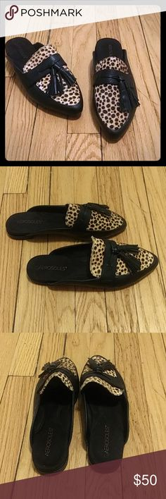 341941d5c8b ❤NWOT - AEROSOLES- Leporard Print Loafers❤ Beautiful print loafers. Never  worn ❤