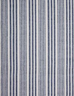 #HookandLoom Lenox Eco Cotton Rug - Denim/White