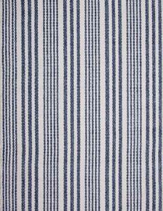 #HookandLoom Lenox Eco Cotton Rug - Denim/White