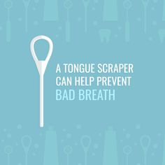 Dental Fact: OF BAD BREATH comes from a dirty tongue! Try using a tongue scraper to keep your tongue clean and prevent bad breath Fact: OF BAD BREATH comes from a dirty tongue! Try using a tongue scraper to keep your tongue clean and prevent bad breath. Dental Hygiene Education, Dental Services, Oral Hygiene, Science Education, Physical Education, Dental Health, Dental Care, Oral Health, Dental Fun Facts
