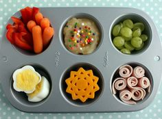 Rainbow Muffin Tin Meal and basic info about muffin tin meal