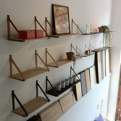 Danish design - Danish production. All wall shelves are designed by Charlotte Holm Schau and sold through A Room Above