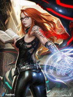 Legend of the cryptids — Mage - Urban Fantasy Fantasy Girl, Chica Fantasy, Fantasy Women, Female Character Design, Character Art, Fantasy Characters, Female Characters, Art Manga, Poses References
