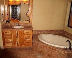rustic+bathrooms | ... Photos: Rustic Bathrooms, Rustic Vanities, Rustic Bathroom Mirrors