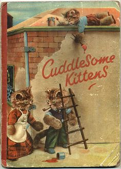 Cuddlesome Kittens - Front cover by moonflygirl, via Flickr