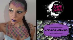 "#NYXFACEAWARDS ACID-POP MERMAID LOOK la mia proposta per i #nyxfaceawards una sirena ""inquinata"", acida e pop con bagliori metallici :)"