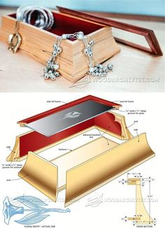 Curved Box Plans - Woodworking Plans and Projects | WoodArchivist.com