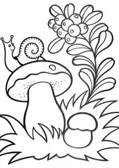 Printable Flower Coloring Pages, Fall Coloring Pages, Coloring Sheets For Kids, Coloring Pages For Kids, Coloring Books, Art Drawings For Kids, Outline Drawings, Drawing For Kids, Easy Drawings