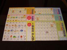 6 Japanese Language Kanji Posters 1st 6th Graders | eBay