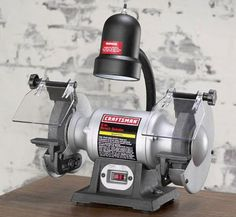 Go, @Craftsman, go! Lucky for me, I own this recommended Craftsman Bench Grinder!