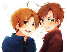 Hetalia (ヘタリア) - The Italy brothers - North & South Italy