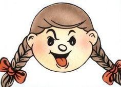 Baú de Recursos para o Ministério Infantil: Expressões de sentimento/ menina