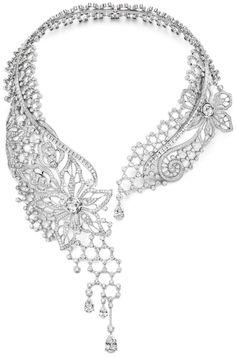 Piaget Biennale diamond necklace