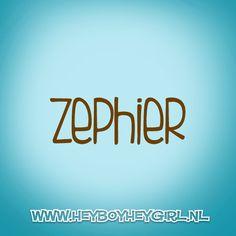 Zephier (Voor meer inspiratie, en unieke geboortekaartjes kijk op www.heyboyheygirl.nl)