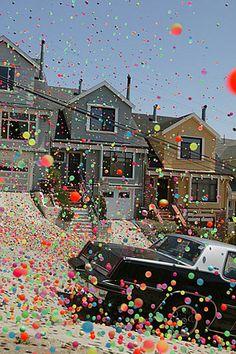 bouncy balls in san fran