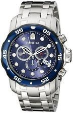 Invicta Men's 80057 Pro Diver Chronograph 48mm Blue Dial Stainless Steel Watch
