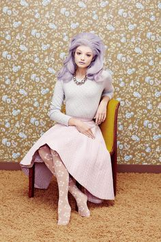 Leah, Bryden, Jessica, Monica + Katy by JUCO in Macarons for Fashion Gone Rogue