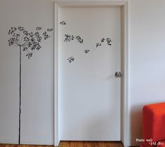 Poetic wall - Stickers dessin - Madame souffle