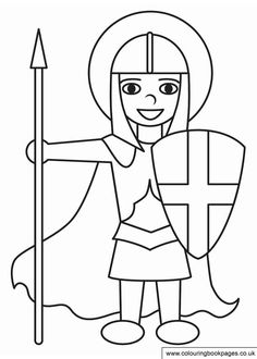 8 free St Georges Day colouring pages for boys. These free kids printable activities are great for all ages and include the St George's flag to colour in and George and the Dragon colouring for kids Origami Paper, Diy Paper, Paper Art, St Georges Day, Printable Activities For Kids, Work Activities, Saint George, St George Flag, Colouring Pages