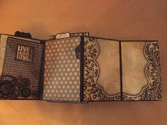 annes papercreations: Simple Stories Documented masculine mini album