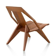 Medici Chair by Konstantin Grcic for Mattiazzi - kind of space age, with wood!