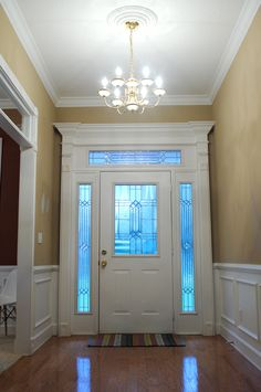 Trim On Dining Room Entrance Way