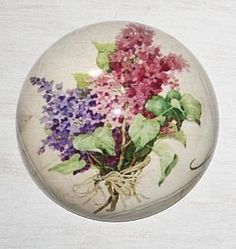 Glass Paperweight - Flowers by marymarygardens, http://www.amazon.co.uk/dp/B0082AUFCS/ref=cm_sw_r_pi_dp_OuMXqb01RZ4N5