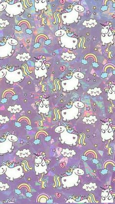 Fat unicorn wallpaper