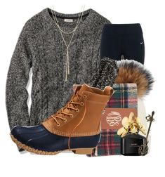 """Question in the D "" by lindonhaley ❤ liked on Polyvore featuring L.L.Bean, NIKE, American Eagle Outfitters, Marc Jacobs, Bloomingdale's and WALL"