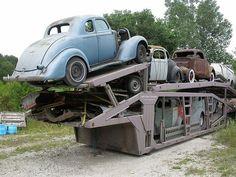 Along the Old National Road in Putnam County, Indiana.. Rod Shop starter kit.