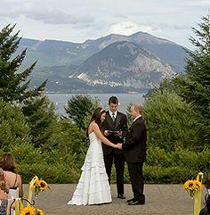 Skamania Lodge Wedding in Columbia River Gorge