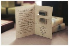 Samples : CheekyChickieSoap - handmade natural soap with essential oils