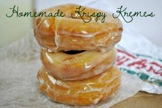 Homemade Krispy Kreme Doughnuts WANNA TRY