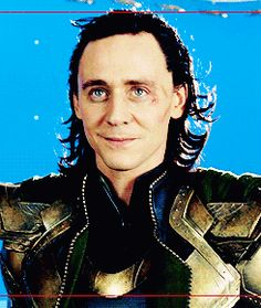 Loki taking a break from evil .gif HE LOOKS SOOO CUTEE!!