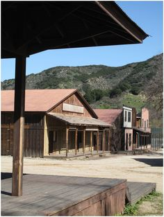 "Paramount Ranch, Agoura Hills, California. Where ""Dr. Quinn, Medicine Woman"" was filmed. (Embracing my old lady-ness.)"