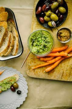 """mustard roasted broccoli """"rillettes"""" with leeks + lemon // the first mess"""