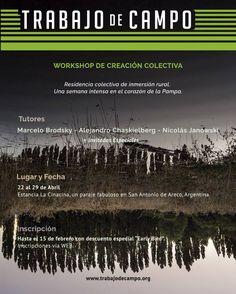 Workshop de creación colectiva TRABAJO DE CAMPO | FORMACIÓN, MEMORIA, TERRITORIO  Compartir un proceso. Repensar el pasado. Intervenir, imaginar, fotografiar, escribir, manifestarse. Editar un libro. Colectivamente. Una semana de Trabajo de Campo. Abril, 2017.  Más info: http://ly.cpau.org/2kahTgK  #AgendaCPAU #Eventos #Workshop #RecomendadoArq