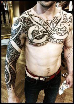 Armor of Wyrms day 7 by ~Meatshop-Tattoo on deviantART