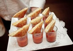 Grilled Cheese Buffet or Apps