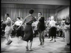 "Bill Haley & His Comets - ""Rip It Up"" - from ""Don't Knock The Rock"" - 1956 ... So awesome! Love the dancing!!"