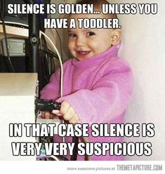 When silence is not so golden…