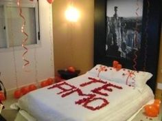 Decorar quarto para o Dia dos Namorados 001