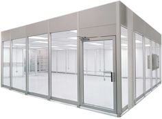 Vertical Laminar Flow Hardwall Cleanroom