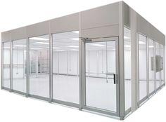 Vertical Laminar Flow Hardwall Cleanroom