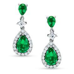 Emeralds... damonds... heaven #emeralds #jewellery #earrings